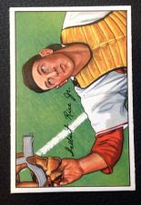Buy 1952 Bowman #107 Del Rice VG+