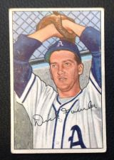 Buy 1952 Bowman #190 Dick Fowler VG
