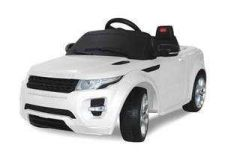 Buy Land Rover Evoque Ride on ,White - Rastar