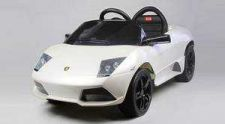 Buy Lamborghini Murcielago Lp640 Ride on ,White - Rastar