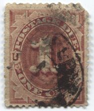 Buy 1891 1c Cent Postage Due Red Used Hand Cancel Choose from 2