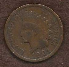 Buy US Indian Head Cent Penny 1901 Coin