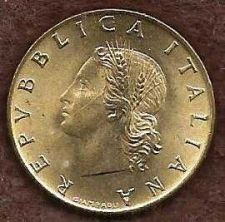 Buy Italy 20 Lire 1973 Oak Leaves Coin - Beautiful Coin!