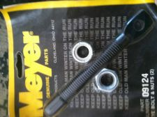 Buy 09124 Meyer Eyebolts & 2 Nuts