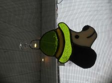 Buy Leprechaun stained glass sun catcher
