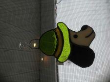 Buy Leprechaun stained glass sun catcher