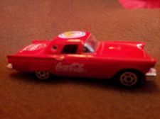 Buy Majorette 1957 Ford Thunderbird with Coca Cola Logo Ref 290 ECH 1/58