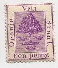 Buy Africa Orange State vrij een penny 1d, 1900 unused,full gum