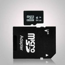 Buy 64gb microSD microSDHC SD SDHC TF Memory Card hi speed Class 10 C10 with Adapter