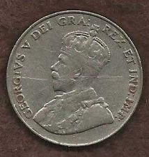 Buy Canada 5 Cents 1931 RARE Early King George V Crowned Coin