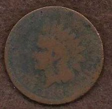 Buy US Indian Head 1 Cent Penny 1883