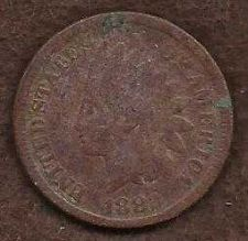Buy US Indian Head 1 Cent Penny 1882