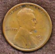 Buy US Lincoln Type Wheat Cent Penny 1916 S
