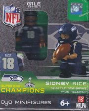 Buy Sidney Rice Seattle Seahawks SB XLVIII Champions NFL OYO G1LE Series 4
