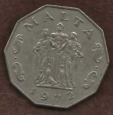 Buy Malta 50 Cents 1972 Great Seige Monument of 1565 Coin