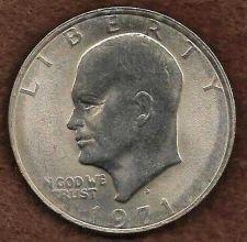 Buy US Eisenhower (Ike) Dollar Coin 1971 D