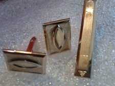 Buy Men's High Quality Gold Color Cuff links with Tie Clasp Great gift!