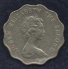 Buy 1981 Hong Kong 2 Dollar Coin Elizabeth II - Beautiful coin!