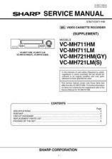 Buy Sharp VCMH722HM-002 Service Schematics by download #159194