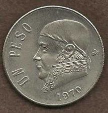 Buy Mexico 1 Peso 1970 Coin