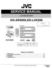 Buy JVC KD-LHX500 TECHNICAL DATA by download #131145