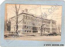 Buy CT Manchester Postcard High School Street Scene w/Old Cars ct_box3~1110