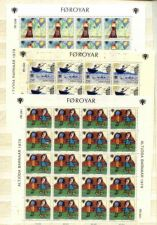 Buy Faroe Islands 45-7 sheets mnh