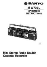 Buy Sanyo M CD660K Operating Guide by download #169336