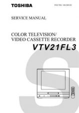 Buy Toshiba VTV2134CD Manual by download #172546