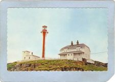 Buy CAN Nova Scotia Lighthouse Postcard Yarmouth Lighthouse At Cape Forchu Rip~989