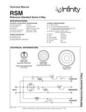 Buy INFINITY REFERENCE STUDIO MONITOR TS Service Manual by download #147663