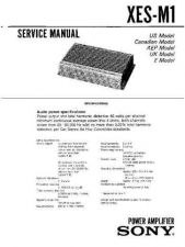 Buy SONY XES-M1 Service Manual by download #167266