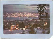 Buy CAN Vancouver Postcard Night View From Grouse Mountain can_box1~144