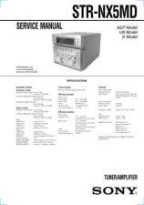 Buy SONY STR-NX5MD CDC-1409 by download #159621