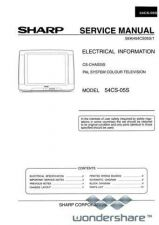 Buy Sharp 54CS05S SM GB(1) Manual.pdf_page_1 by download #178625