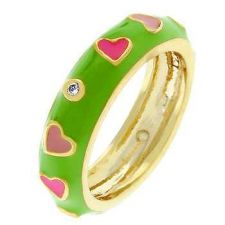 Buy Pinky Hearts Ring (size: 09)