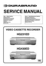 Buy Funai HG231ED HG430ED SERVICE MANUAL Manual by download #162667