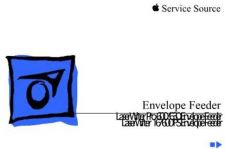 Buy APPLE ENVELOPE FEEDER Service Manual by download #146212