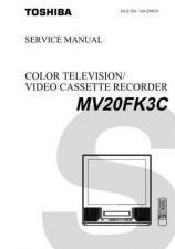 Buy TOSHIBA MV20FK3C Service Schematics by download #160270