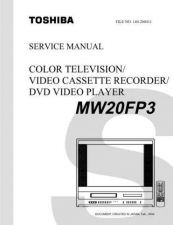 Buy TOSHIBA MW20FP3SVM Service Schematics by download #160304