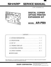 Buy Sharp ARPE2 E2 Service Manual by download #138852