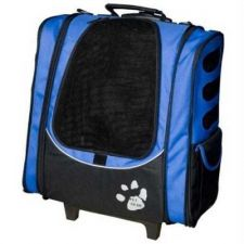 Buy Pet Gear I-GO2 Escort Pet Carrier Car Seat Backpack Ocean Blue
