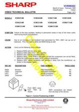 Buy Sharp VCME80HM-008 Service Schematics by download #159029