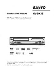 Buy Sanyo HDP-M3000 Operating Guide by download #169319