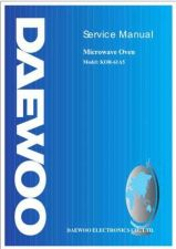 Buy Daewoo KOR-61A5 (E) Service Manual by download #155051
