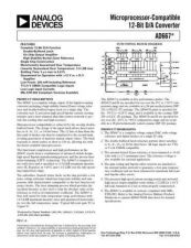 Buy INTEGRATED CIRCUIT DATA AD667J Manual by download Mauritron #186303