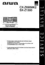 Buy AIWA CX-Z690MK2 TECHNICAL INFO by download #125264