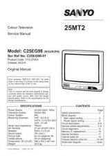 Buy SANYO SKSM0203 Service Data by download #133531