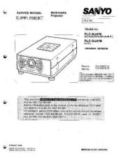 Buy Sanyo PLC-LNS08(OM5110107) Manual by download #174751