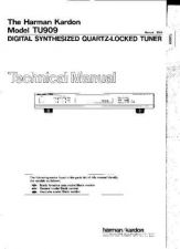 Buy INFINITY TU909 SM Service Manual by download #147983